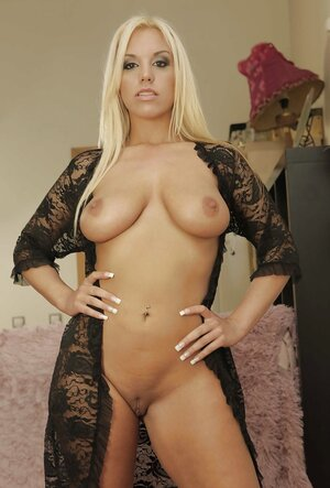 Luxurious goddess waits for lover dressed only in provocative black robe